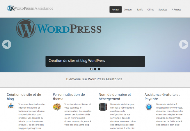 WordPress Assistance