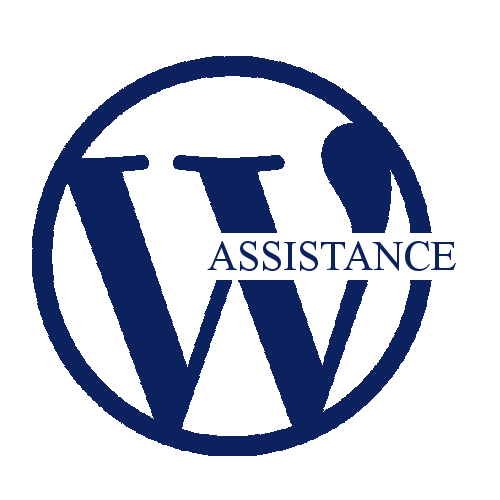 Icône WordPress Assistsnace v2