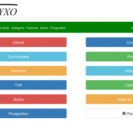 [WebApp] Application de Gestion de commandes Elyxo